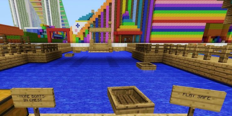 Minecraft Bumper Boats