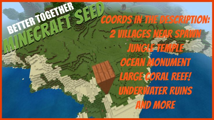 Two Villages Near Spawn Seed Minecraft Better Together