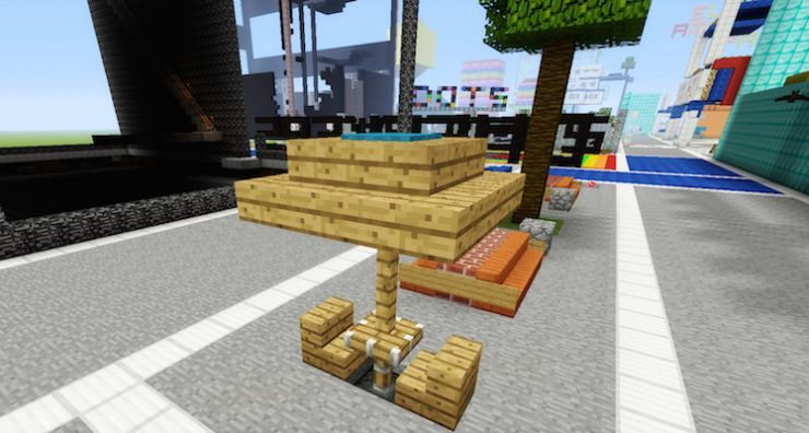 Minecraft Outdoor Furniture