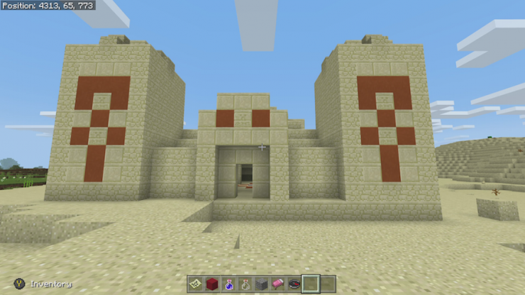 Desert Temple Spawn Seeds